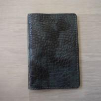 Обложка на паспорт серая под каймана