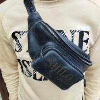 Поясная сумка серая Shilo Sport
