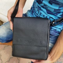 Сумка-планшет большая черная