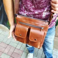 Сумка два кармана